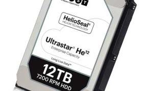 Новый диск от HGST — Ultrastar He12 12TB Hard Drive