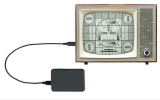 Решение проблемы совместимости телевизора и внешнего жесткого диска