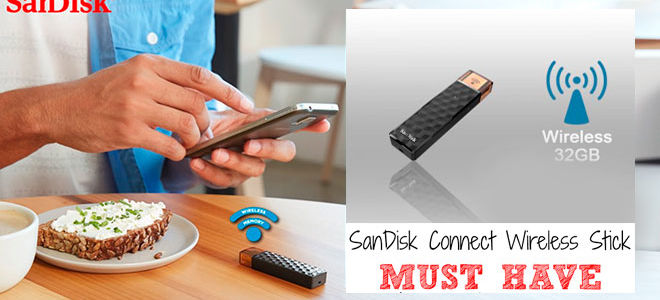 Wi-Fi флешка SanDisk Connect Wireless Stick