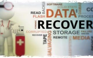 Помощь в восстановлении удаленных файлов с флешки
