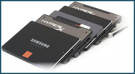 Набор SSD дисков