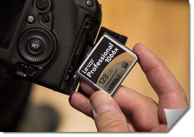 фотоаппарат и компакт флеш