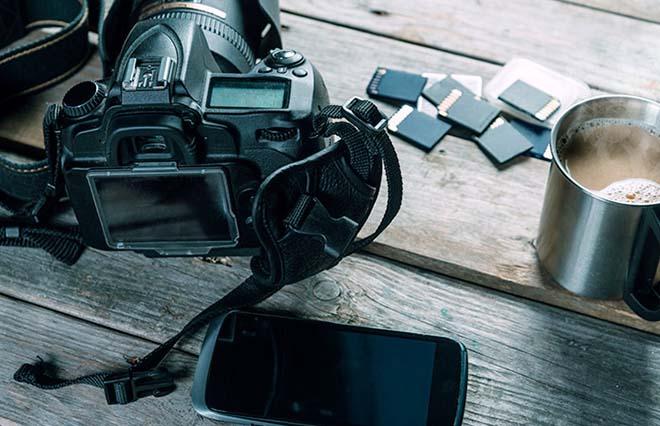 телефон фотоаппарат карты памяти