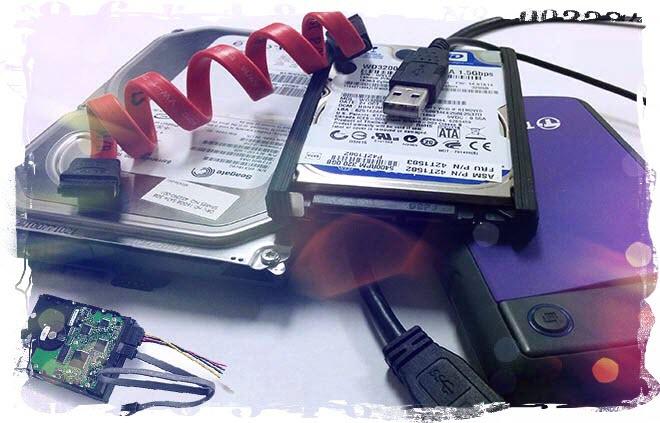 Подключаем жесткий диск к компьютеру